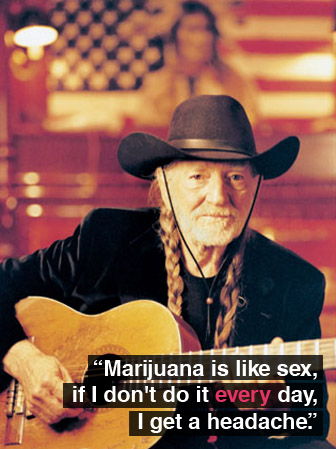 "quotes about weed. ""Marijuana is like sex,"