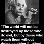 albert einstein about world