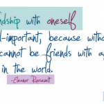 Friendship With Oneself
