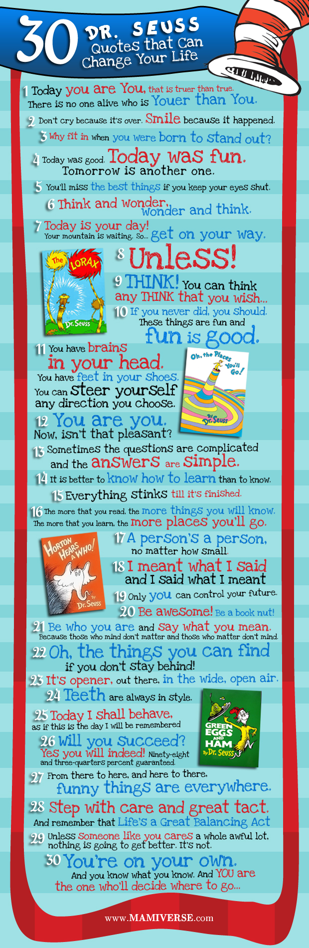 30 dr seuss quotes that can change your life infographic
