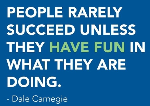 people rarely succeed