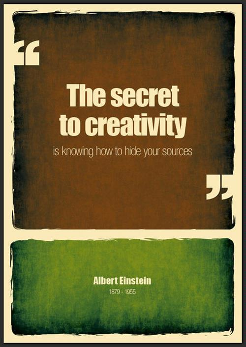 Albert Einstein about creativity
