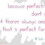 Perfect guys don't exist