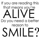 do you need a better reason to smile?