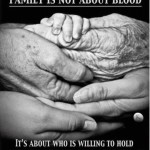 family is not about blood