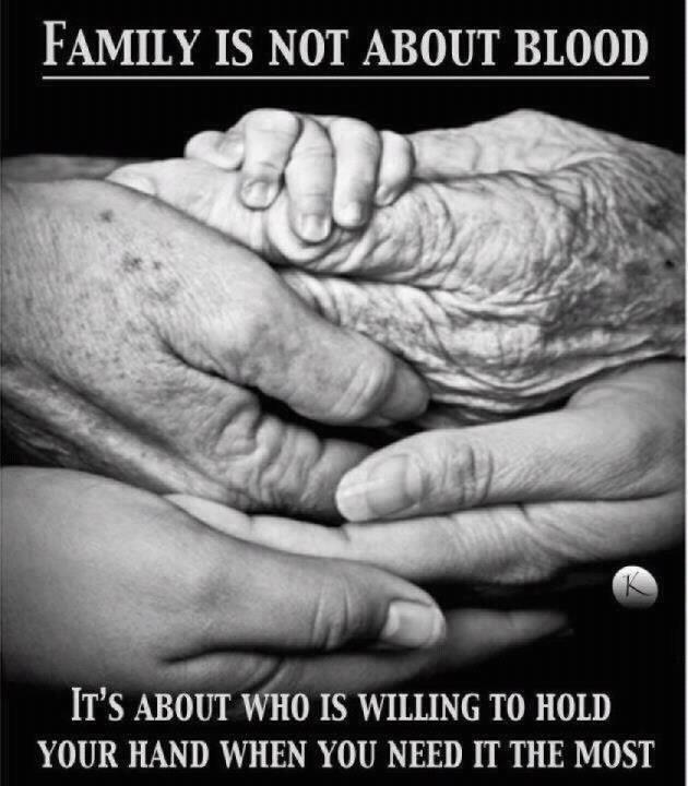 Family Is Not About Blood Friendship Quotes A Large Collection