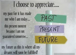 I choose to appreciate...